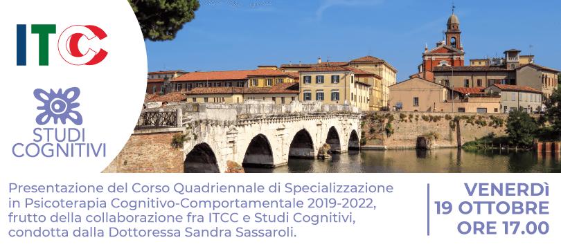 ISC RImini - Presentazione Scuola di Psicoterapia 19 Ottobre - FEATURED SC