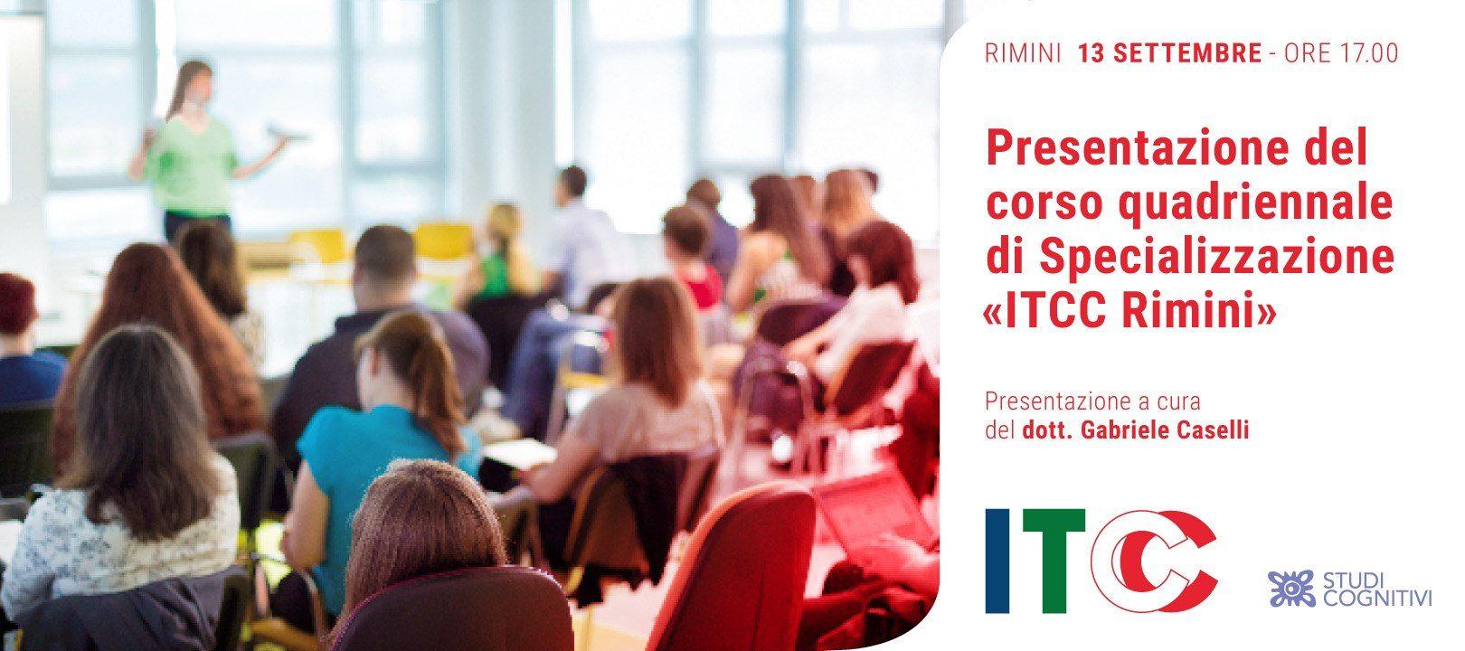 RIMINI - 130919 - Presentazione Corso Quadriennale - SC