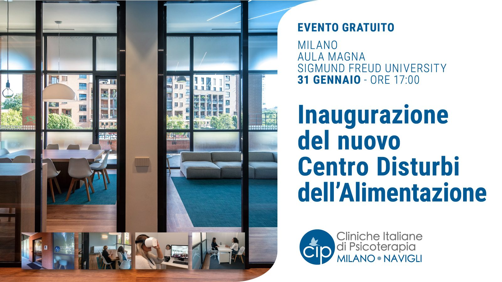 CIP MILANO - 200131 - Inaugurazione - Banner