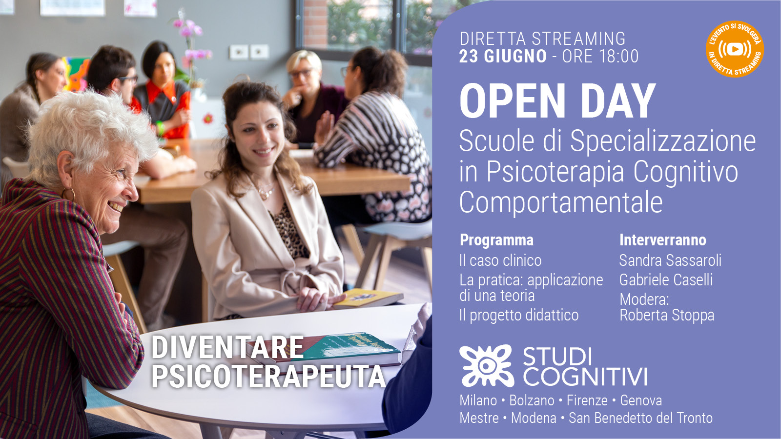 NAZIONALE - 210623 - Open Day - Banner