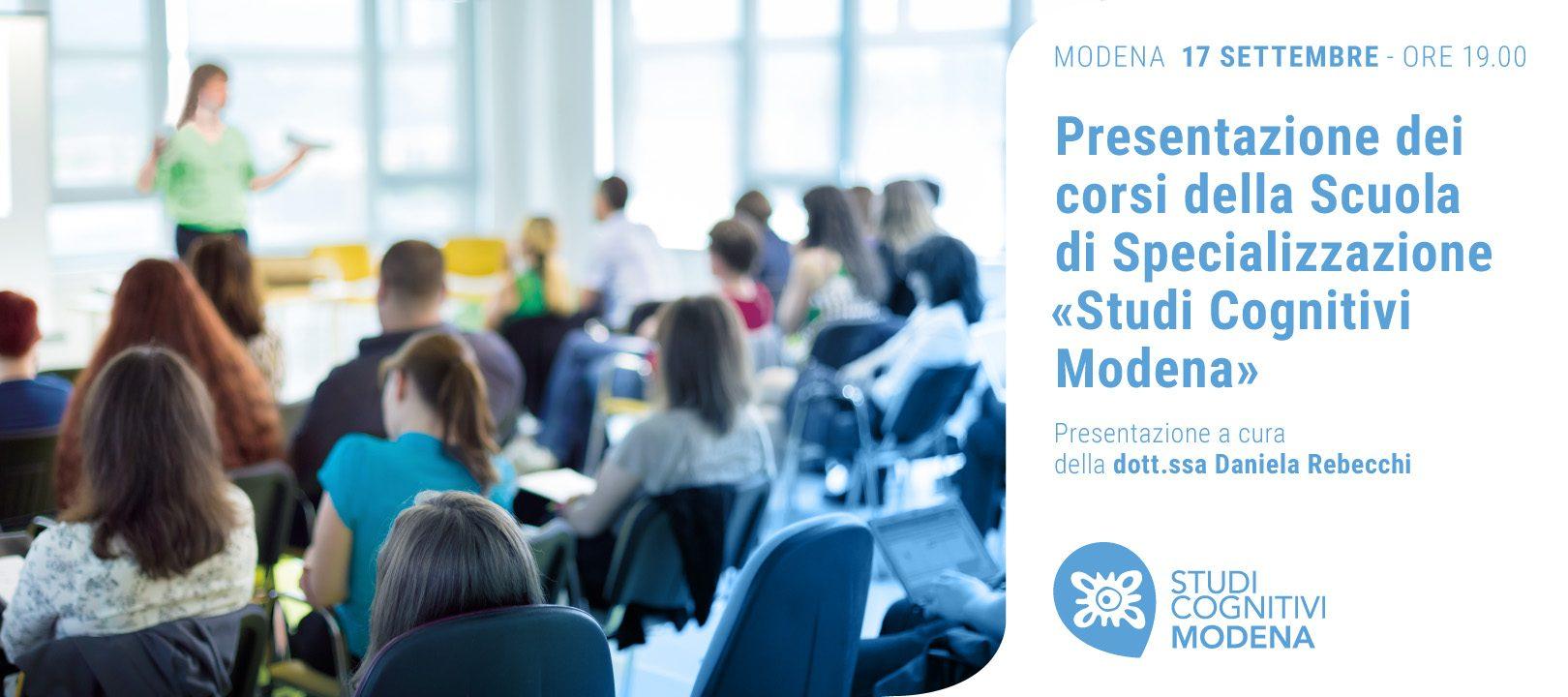 MODENA - 170919 - Presentazione Corsi - SC