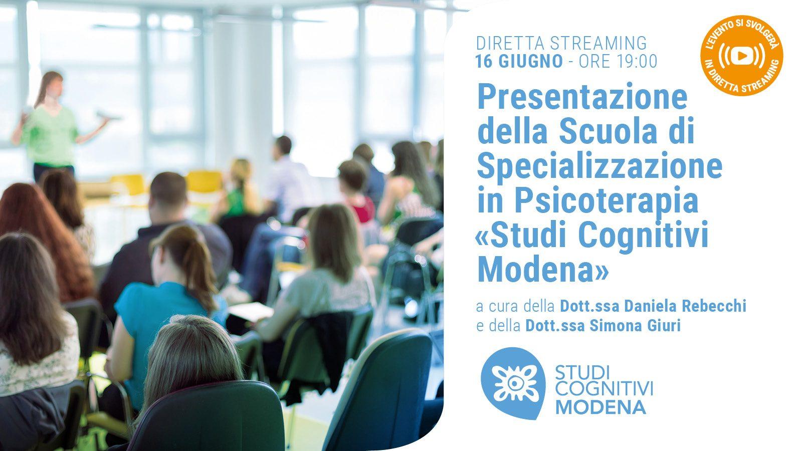 MODENA - 200616 - Presentazione Scuola - Banner