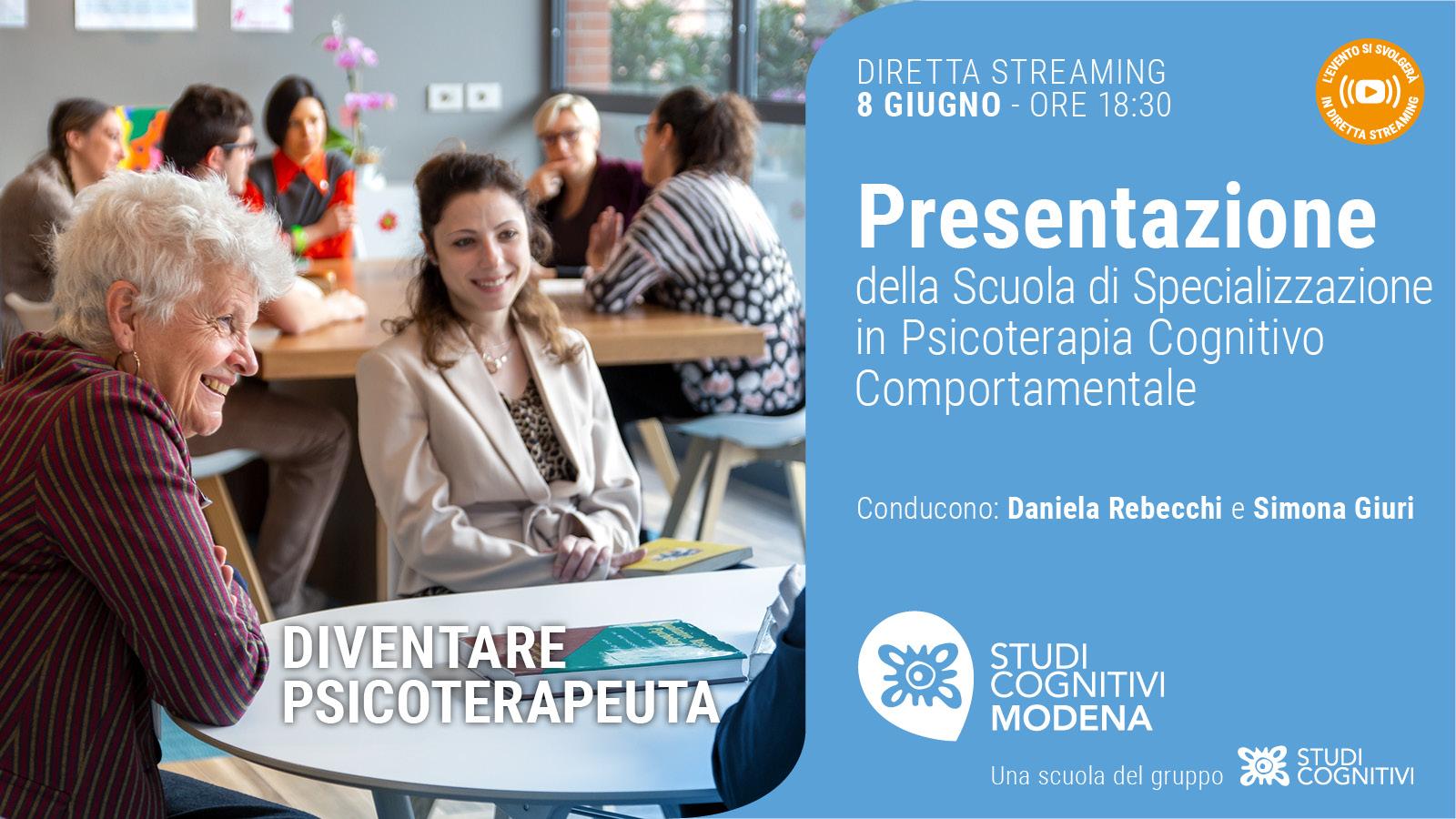 MODENA - 210608 - Presentazione Scuole Studi Cognitivi