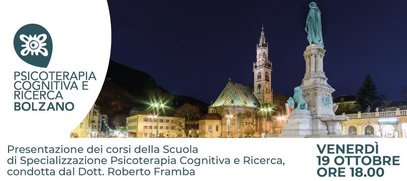 PTCR BOLZANO - Presentazione della Scuola di Specializzazione in Psicoterapia CBT - 19 Ottobre 2018 - SC FEATURED