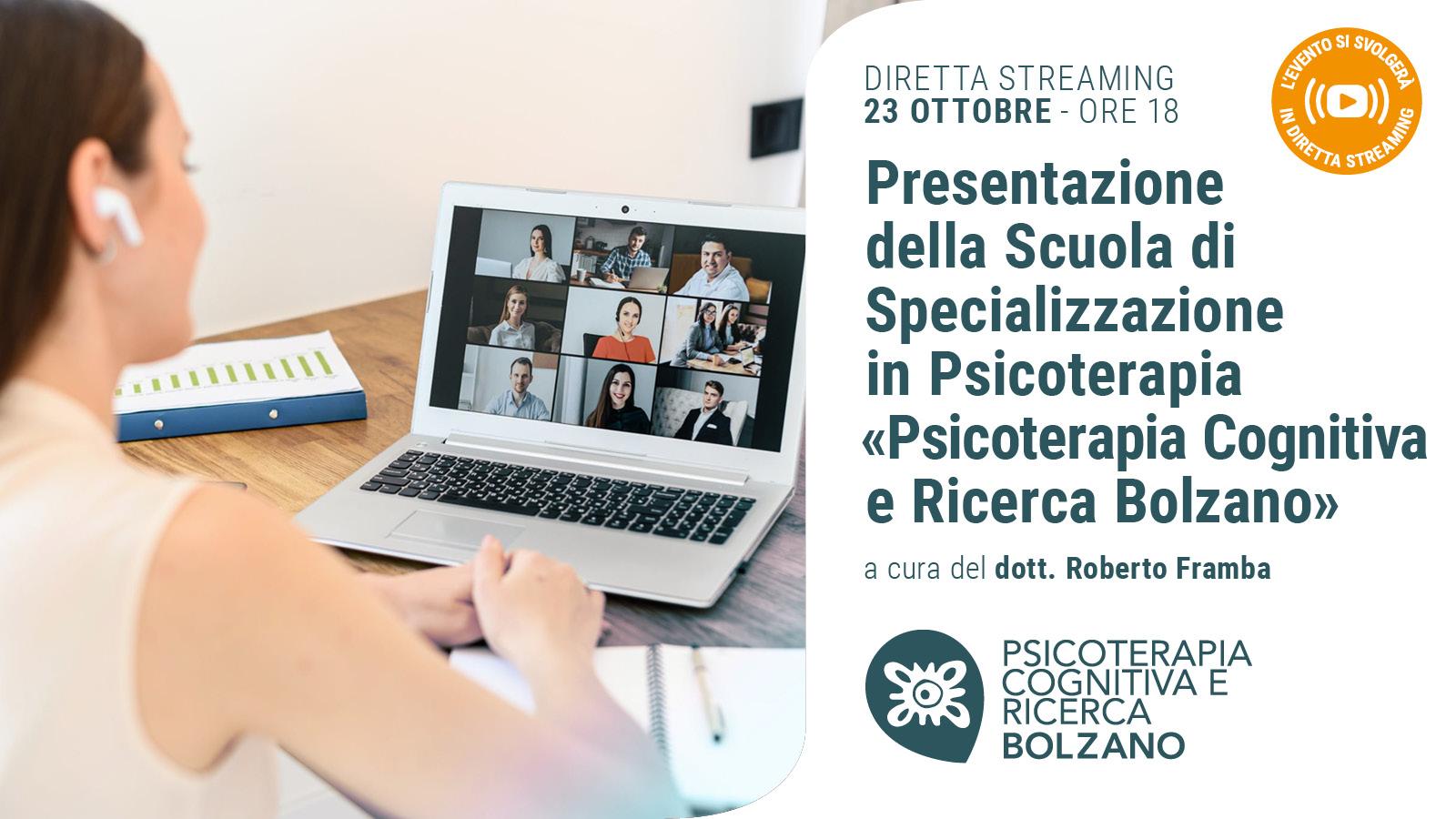 BOLZANO - 201023 - Presentazione Scuola - Banner