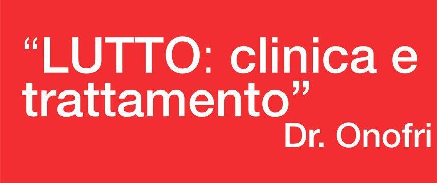 Lutto Clinica e Trattamento - SITCC Toscana