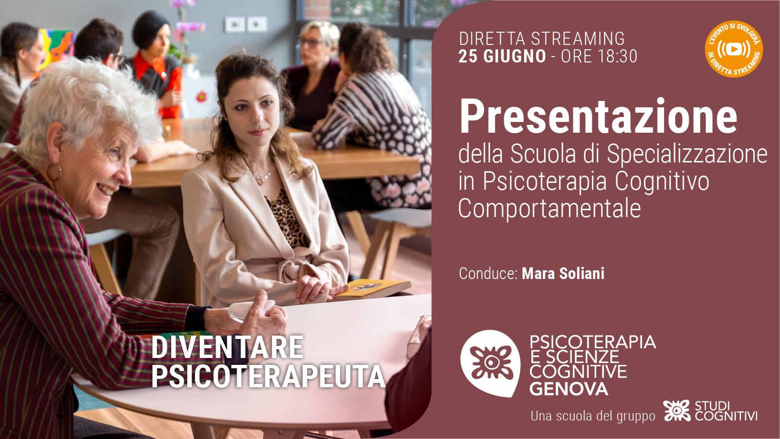GENOVA - 210625 - Presentazione Scuole Studi Cognitivi