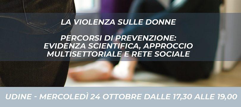 PTCR MESTRE - Evento UDINE Violenza sulle donne - 810x360